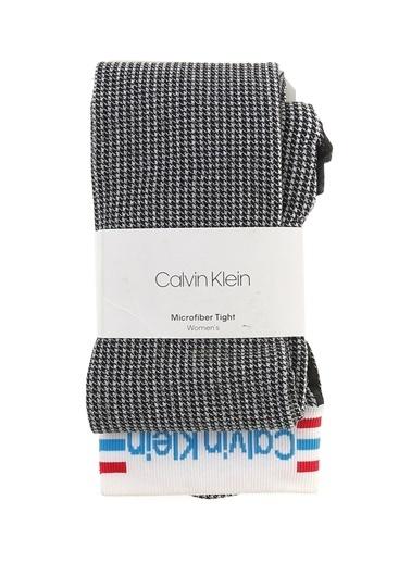 Calvin Klein Külotlu Çorap Siyah